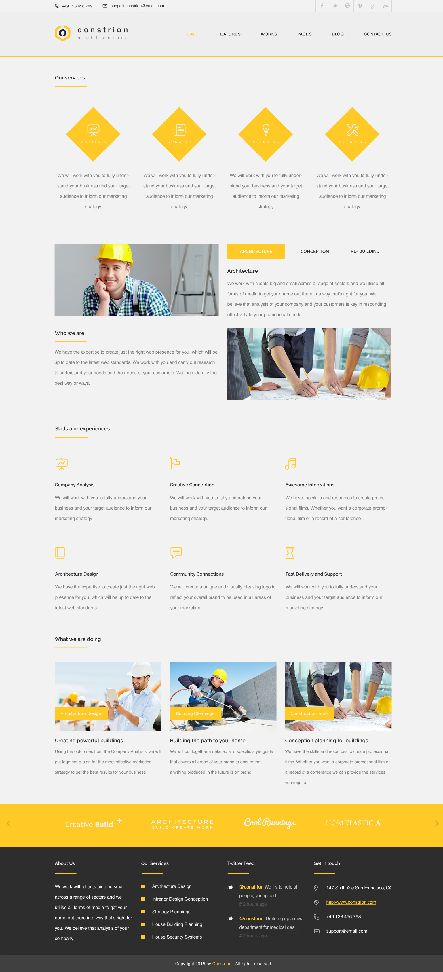 Constrion Construction And Builder Html Template By