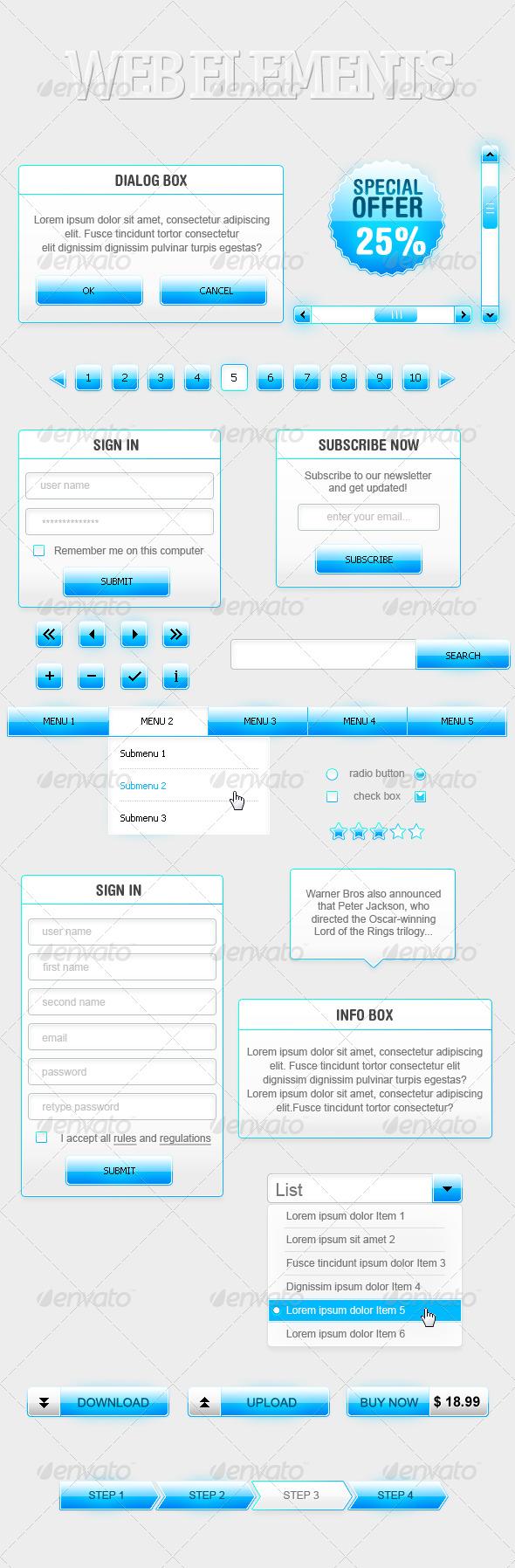 Web Elements - Web Elements