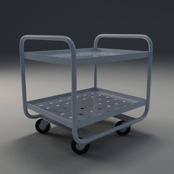 Industrial trolley - 3DOcean Item for Sale
