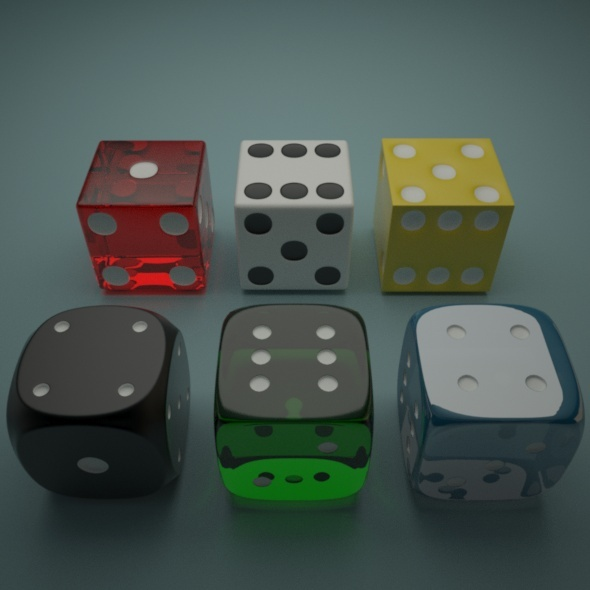 Dices - 3DOcean Item for Sale