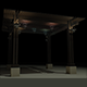 Gazebo Pergola with Lantern - 3DOcean Item for Sale