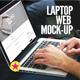 Laptop | Web App Mock-Up - GraphicRiver Item for Sale