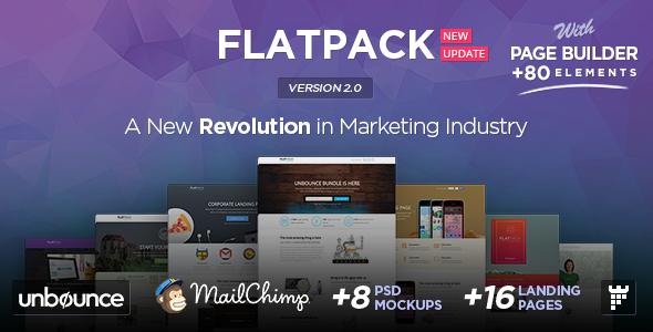 FLATPACK – Multipurpose Unbounce Pack