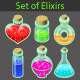 Magic Elixir - GraphicRiver Item for Sale