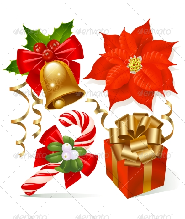 Christmas decoration set - Christmas Seasons/Holidays