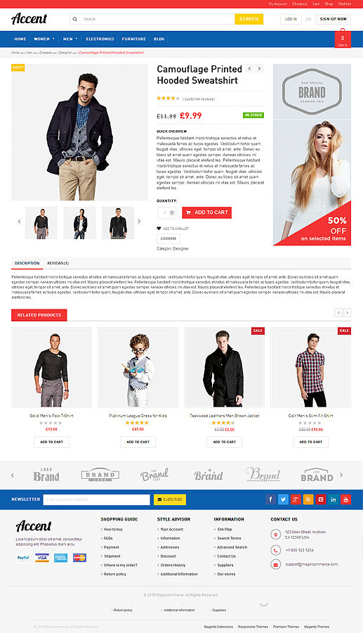 Accent Gift Store Woocommerce Wordpress Theme By