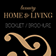 Brochure/Booklet Home and Living - GraphicRiver Item for Sale