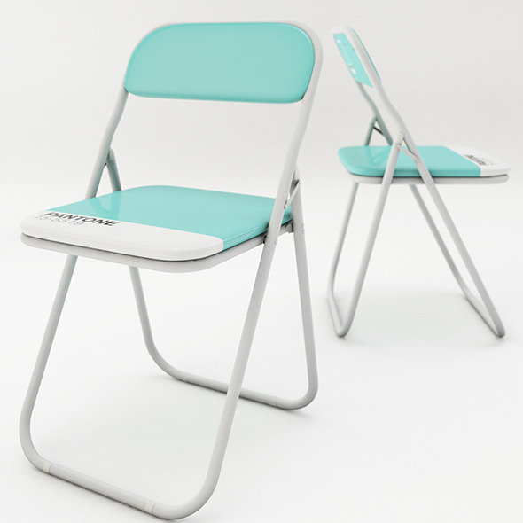 Folding chair design  - 3DOcean Item for Sale