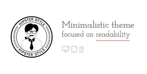 BLG – Minimalistic Template Focused on Readability