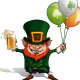 St Patrick - Balloons - GraphicRiver Item for Sale