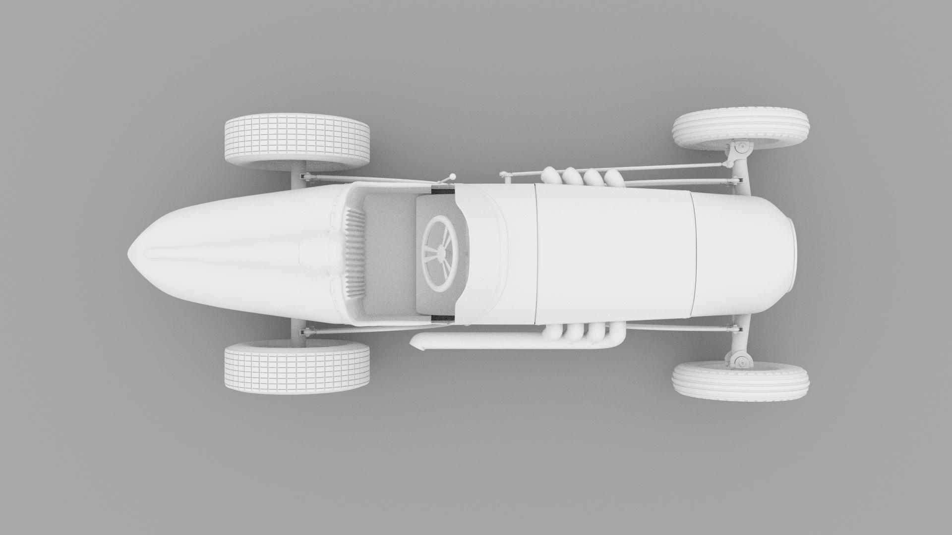 Vintage Sprint Car 3D Model by Media Pixel™ by tufgi | 3DOcean