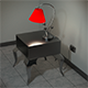 Night Stand and Lamp - 3DOcean Item for Sale