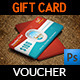 Travel Gift Voucher Card Template Vol.17 - GraphicRiver Item for Sale