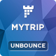 MyTrip - Travel Agency Unbounce Template Nulled