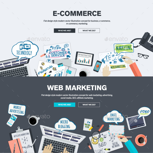 Megamad Website Design Marketing: Concepts For E-Commerce And Web Marketing By PureSolution