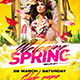 Welcome Spring Flyer