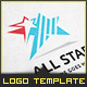 All Star - Logo Template - GraphicRiver Item for Sale
