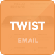 Twister - Modern Email Template + Online Editor - ThemeForest Item for Sale