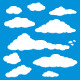 Cloud Blue Sky Vector - GraphicRiver Item for Sale