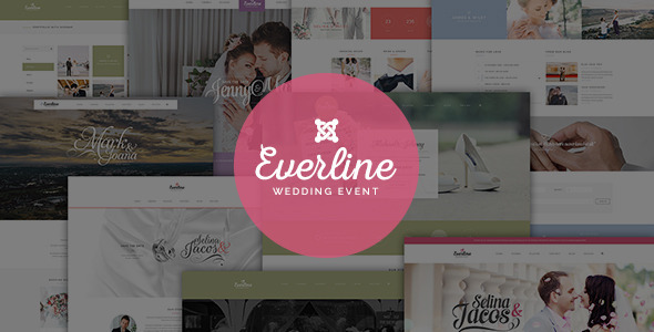 Everline - Wedding Joomla Template - Wedding Joomla