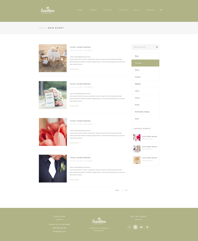 Everline - Wedding Joomla Template by templaza   ThemeForest