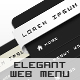 ELEGANT WEB MENU - GraphicRiver Item for Sale
