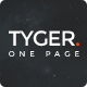 Tyger - Clean and elegant onepage template - ThemeForest Item for Sale
