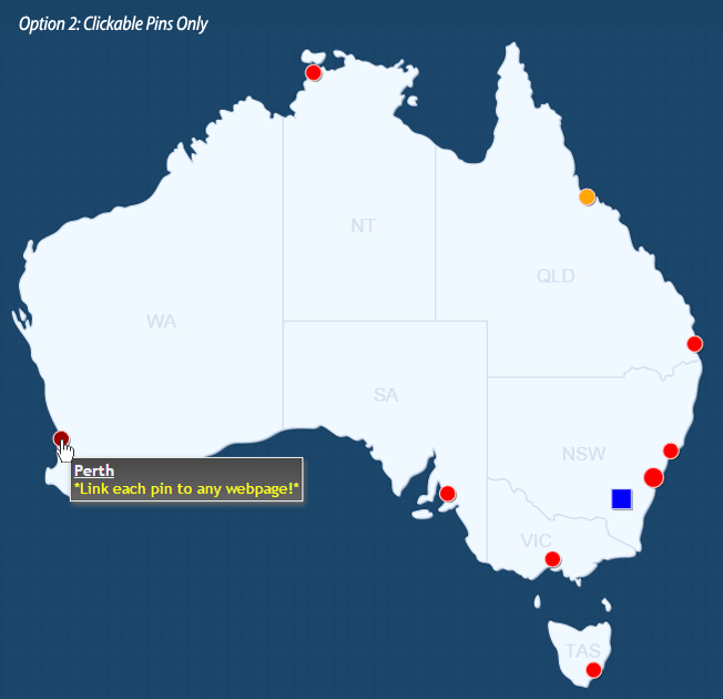 Interactive map of australia html5 by art101 codecanyon australia map01g gumiabroncs Image collections