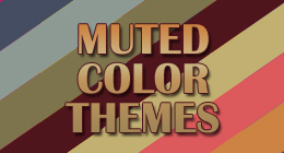 Muted Color Themes
