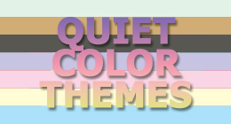 Quiet Color Themes