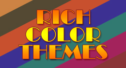 Rich Color Themes
