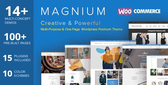 Magnium – Multi-Purpose WooCommerce Theme