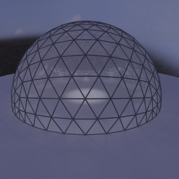event dome - 3DOcean Item for Sale