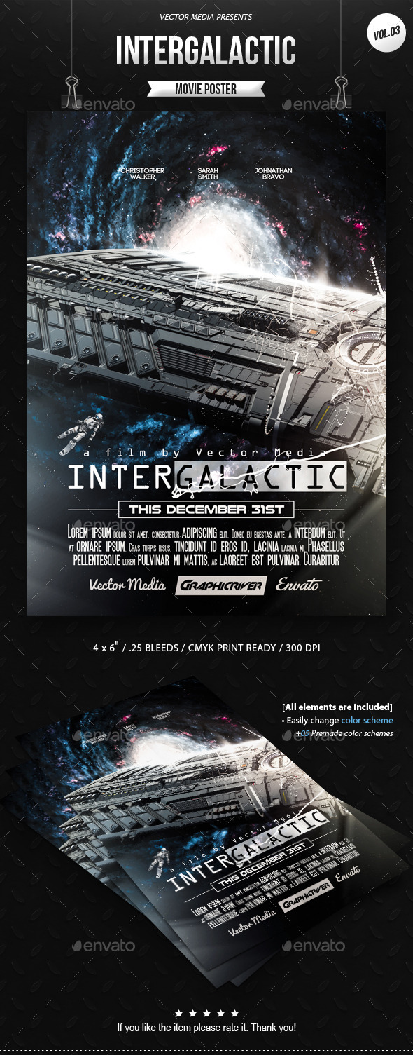 Intergalactic - Movie Poster [Vol.3]