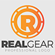 Real Gear Logo Template - GraphicRiver Item for Sale