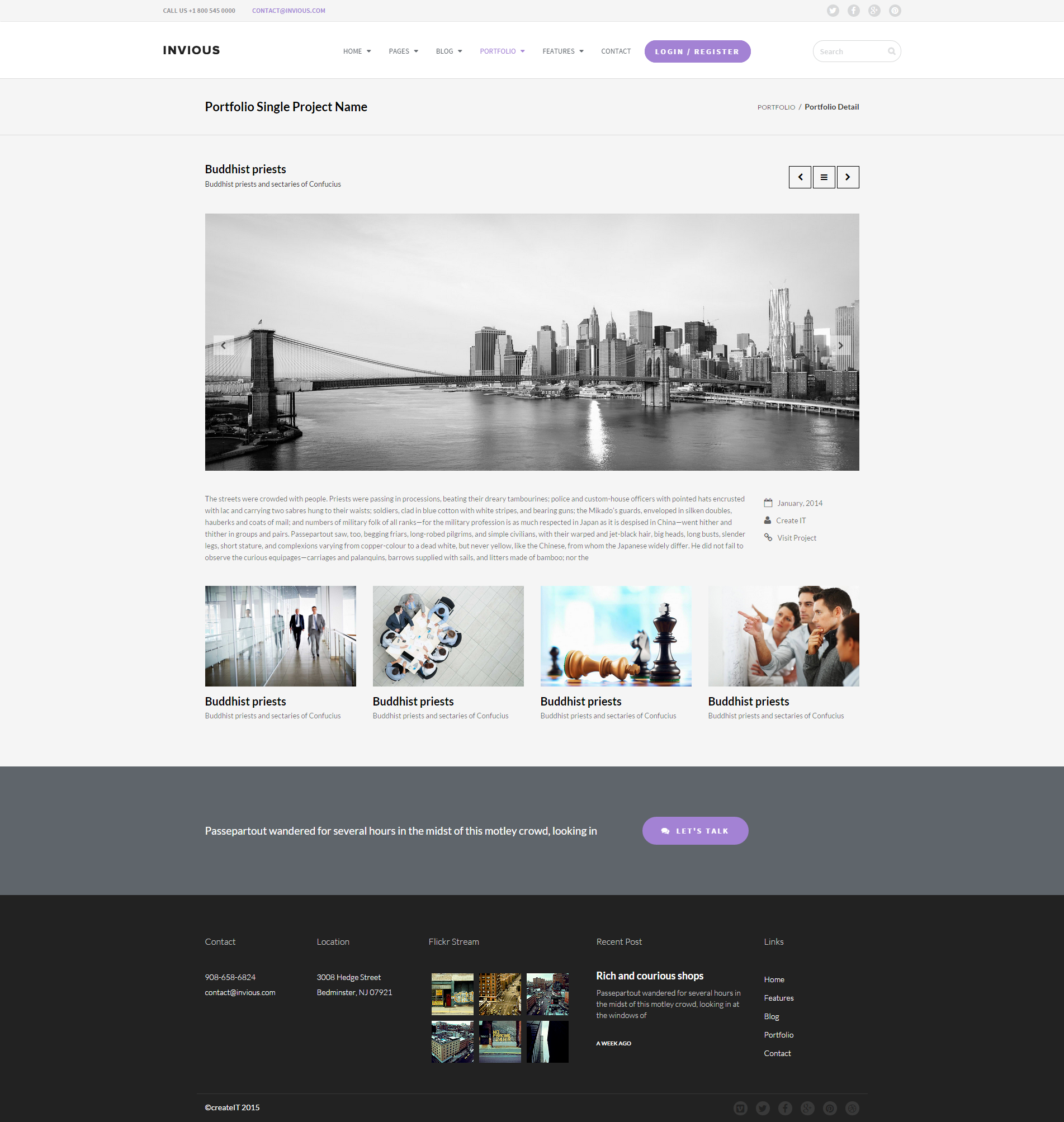 INVIOUS - Clean Responsive Corporate HTML Template by createit-pl ...