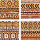 Color Seamless Tribal Texture - GraphicRiver Item for Sale