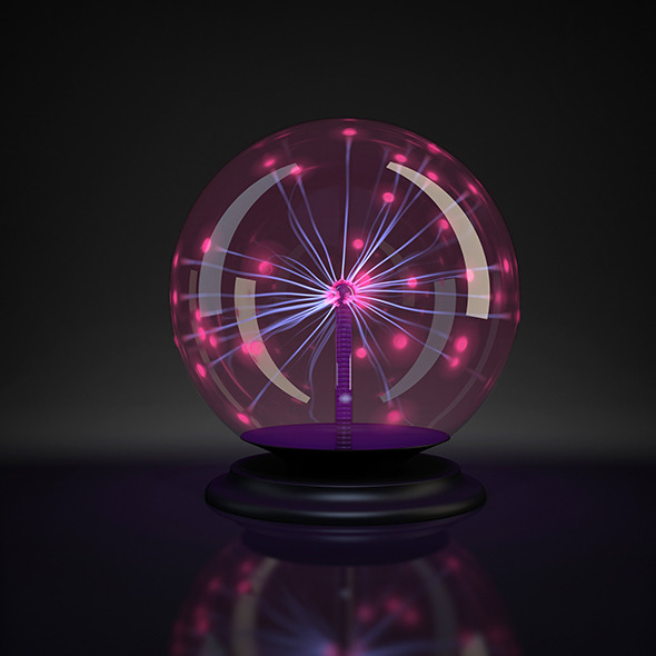 Plasma ball - 3DOcean Item for Sale