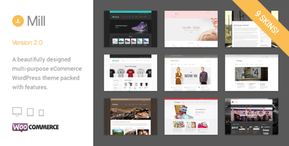 Mill – Modern WooCommerce Theme (aka Mommerce)