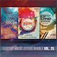 Electro Music Flyer Bundle Vol. 25 - GraphicRiver Item for Sale