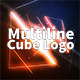 Multiline Cube Logo - VideoHive Item for Sale
