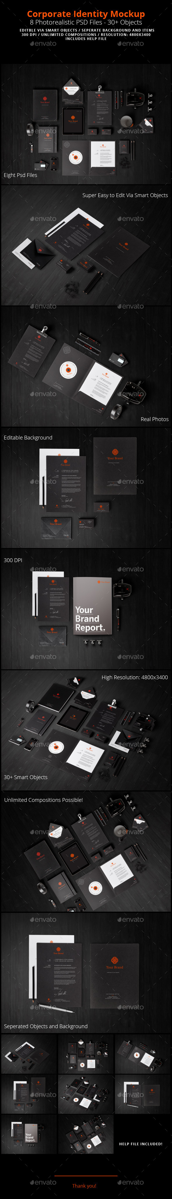 Corporate Identity Graphics & Vectors from GraphicRiver