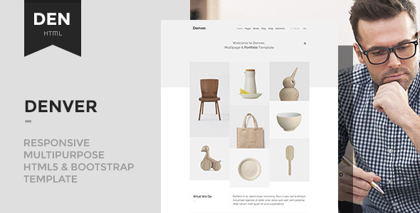 Denver - Responsive Multipurpose Template