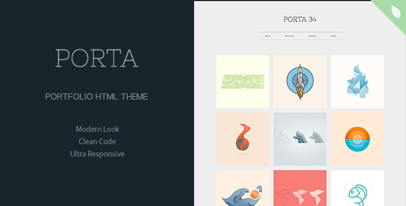 PORTA – Portfolio Theme