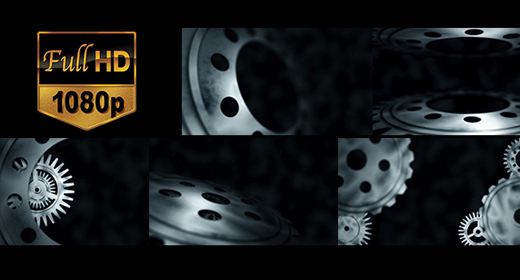Cog Gear Industrial animation