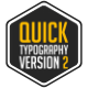 Quick Typography V2 - VideoHive Item for Sale