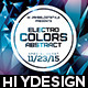 Electro Colors Abstract Flyer - GraphicRiver Item for Sale
