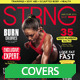 Strng Fitness Magazine Cover - GraphicRiver Item for Sale