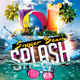 Summer Beach Splash Flyer Template - GraphicRiver Item for Sale