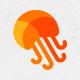 Jellyfish Media Logo Template - GraphicRiver Item for Sale